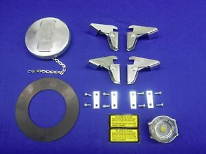 3 USA Fit Lincoln Welder VITON Seal In Fuel Gas Cap SA 200 250 SAE-300 SAE-400