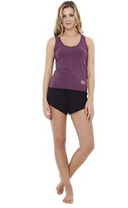 A Gift From The Gods Women/'s Plum Purple and Black Pyjamas Short Pyjama Set M