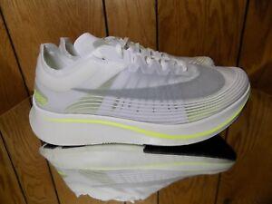 030a416bb2e4 Nike Zoom Fly SP NikeLab BOSTON MARATHON CITY WHITE VOLT AJ9282-107 ...