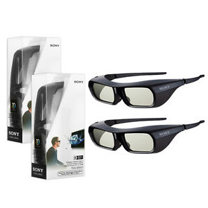 Details about 2X Sony TDG-BR250 3D Glasses for Bravia EX720 HX750 HX800 TV  2010-2012 Models US