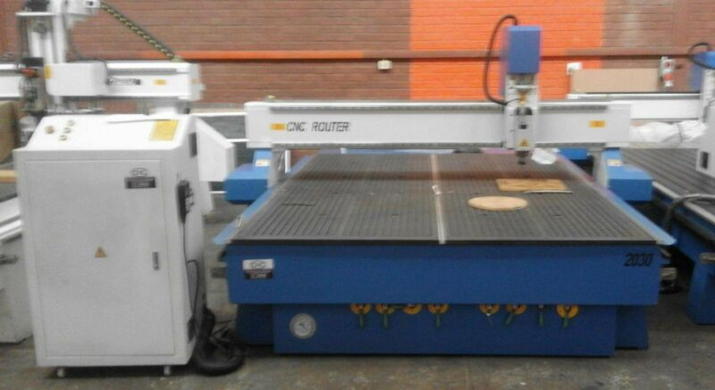CNC Router PS 2030 6 KW Water Cooled Spindle