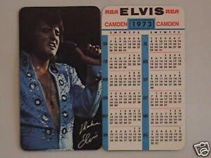 1973-Elvis-Presley-Wallet-Calendar-Near-Mint-Mint-Cond