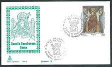 2001 ITALIA FDC CAPITOLIUM SANCTA SANCTORUM NO TIMBRO ARRIVO - EDG15