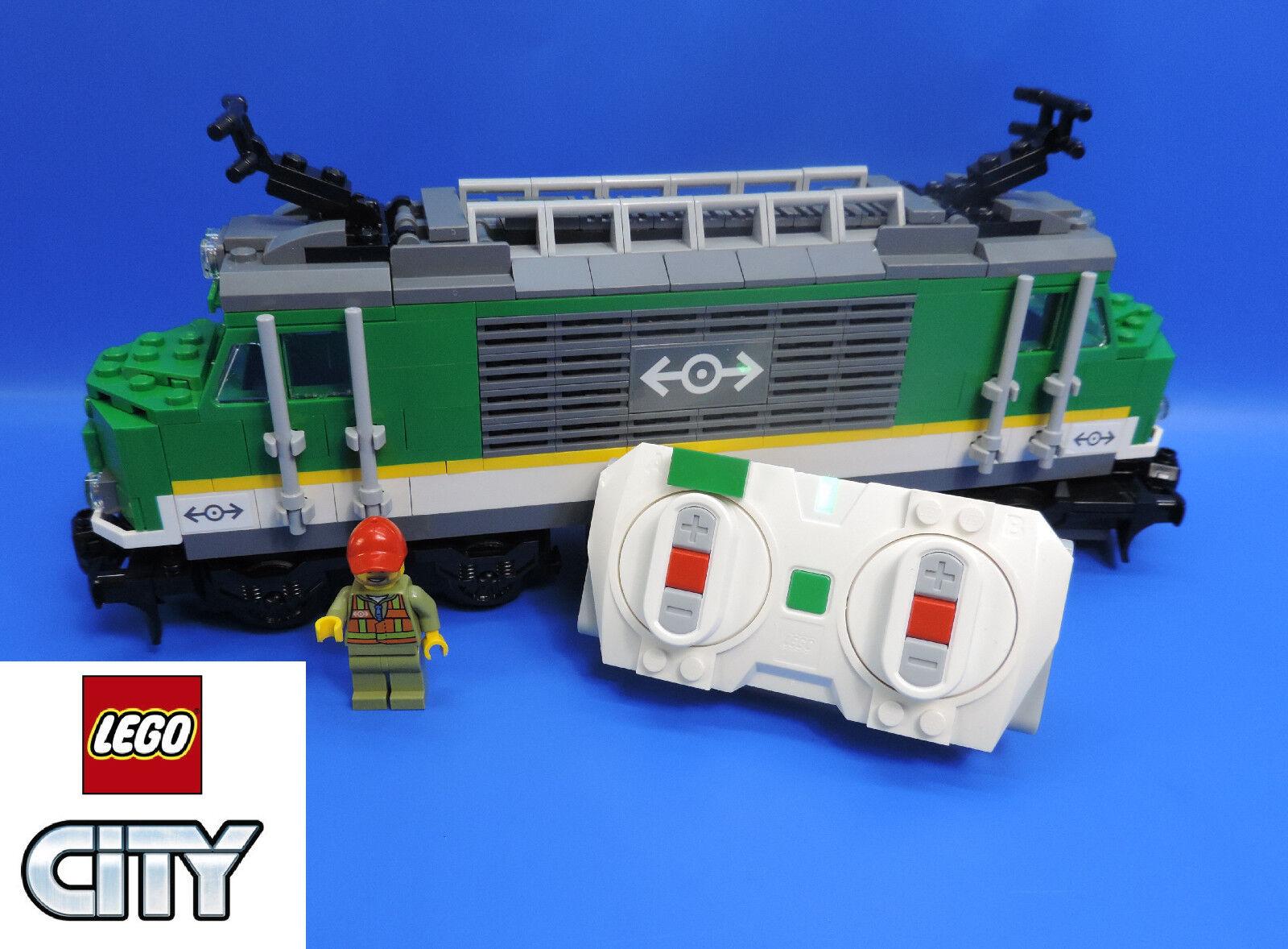 Lego Locomotive de Chemin Fer 60198 Motorisé avec blueetooth-Fernsteuerung