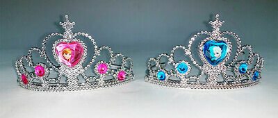 Official Licensed Disney Frozen Anna Elsa Corona Tiara Bambino's Fancy Dress-mostra Il Titolo Originale