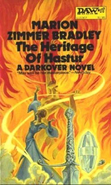 The Heritage of Hastur - A Darkover Novel - Daw Paperback 1975