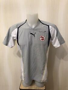 Switzerland team 2000's Sz M Puma Swiss soccer shirt jersey trikot football