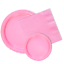 Dessert Plates New Pink Paper Party Supply SetDinner Plates /& Napkins90