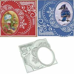 Motif-de-dentelle-decoupe-matrices-pochoir-Scrapbooking-gaufrage-carte-Album