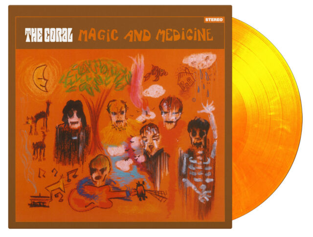 Coral - Magic And Medicine 180g YELLOW COLOURED vinyl LP IN STOCK NEW/SEALED
