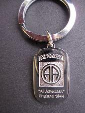 82nd Airborne AA Division Paratrooper US Army Schlüsselanhänger Key Ring WW2 WK2