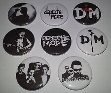 8 Depeche Mode button badges 25mm Speak & Spell Electronic Rock 80's UK Scene