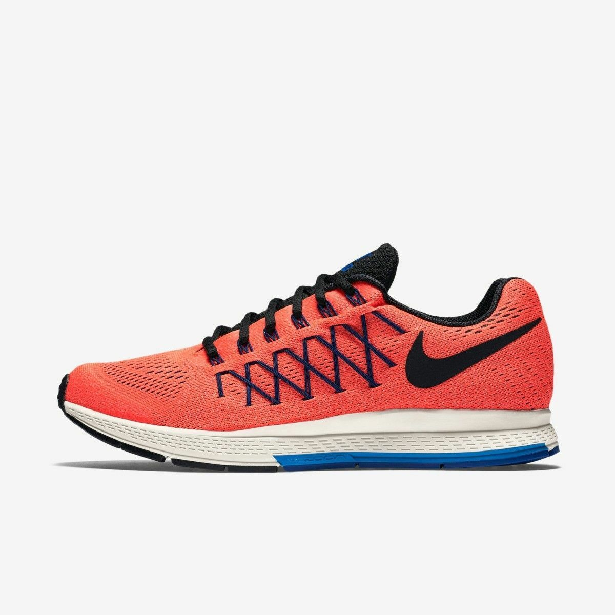 NIKE AIR ZOOM PEGASUS 32 Running Baskets Chaussures Gym UK 10 (EU 45) Total Crimson