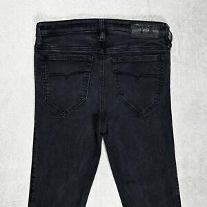Damen Diesel Skinzee super slim skinny Jeans Regular Fit Größe w29 l33 Stretch