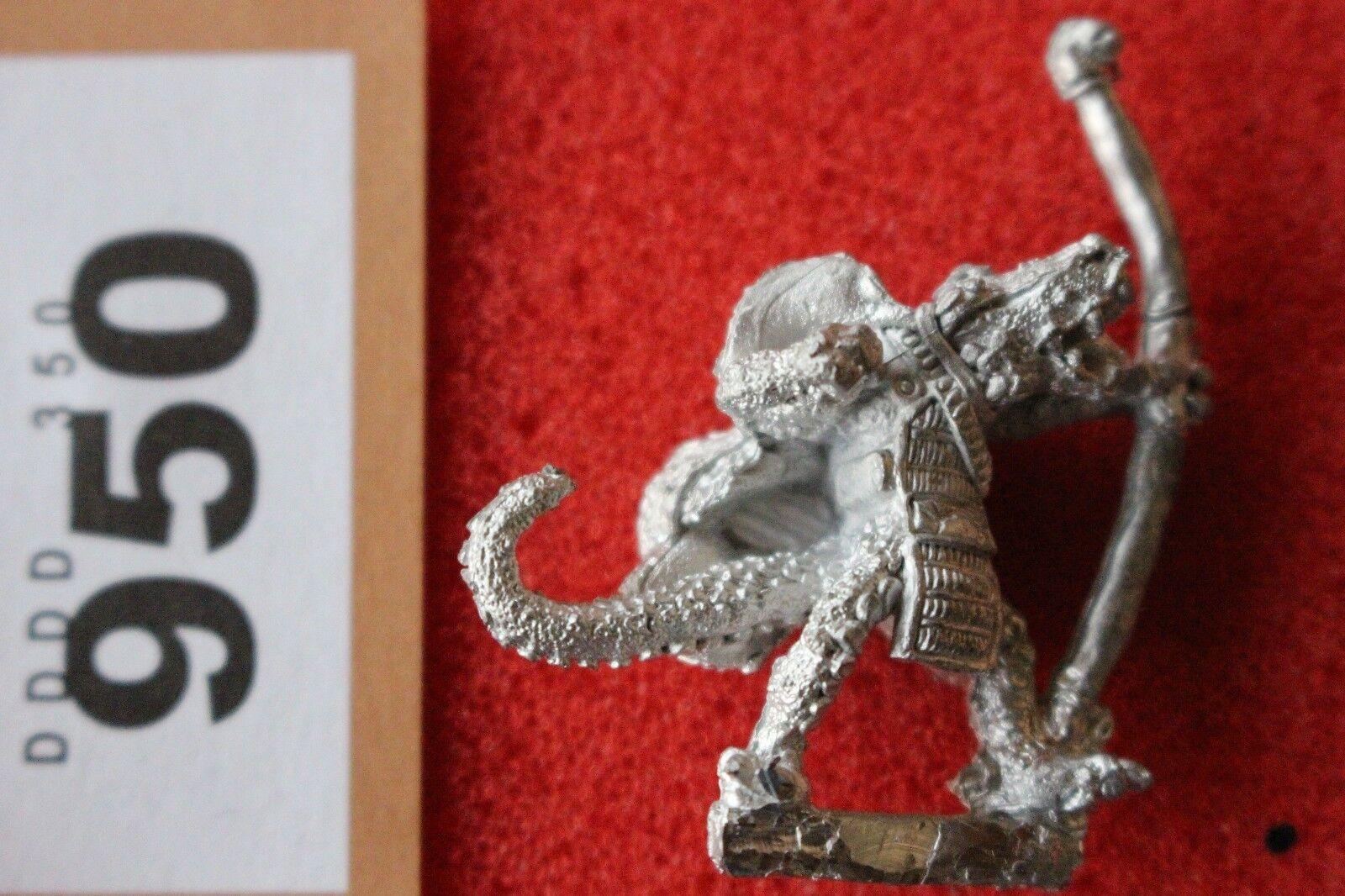 Games Workshop Citadel C19 Lizardmen Lizardman Knar Knar Knar Scarce Metal Warhammer Mint 4949d5