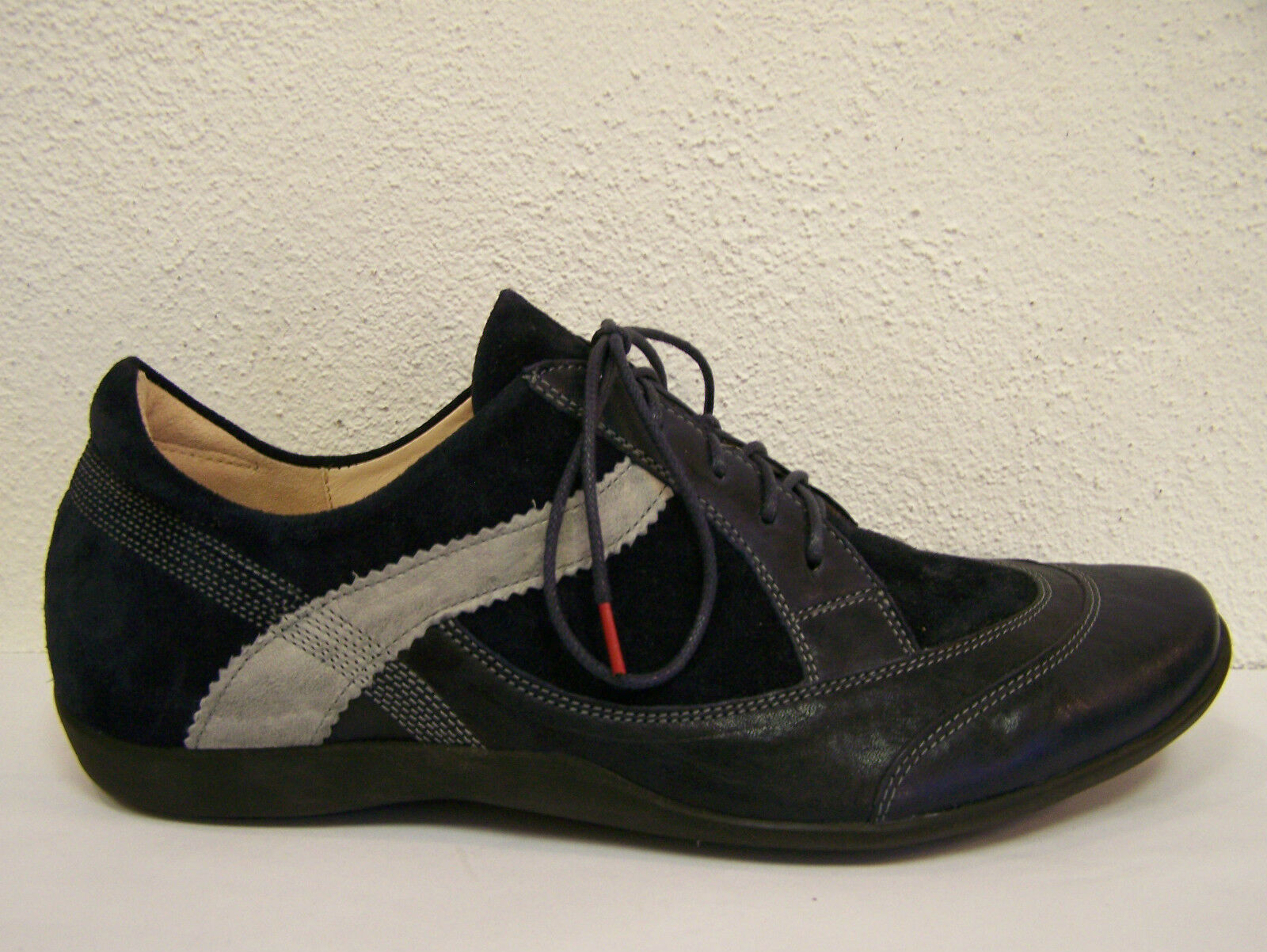 Think Schuhe Modell Stone in ocean kombi Schnürer incl. Think Tüte