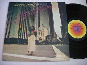 Mickey-Newbury-His-Eye-on-the-Sparrow-1978-LP-VG-PROMO