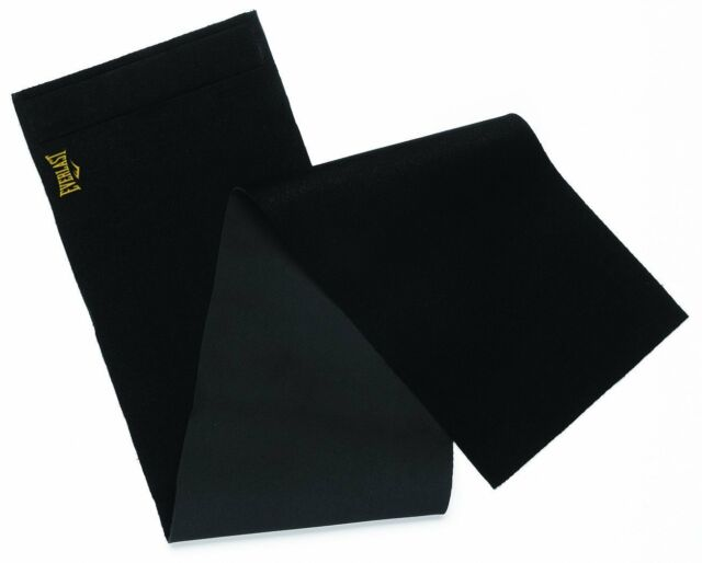 Everlast Slimmer Belt Soft Durable Neoprene Foam Slimming Fit Equipment Black