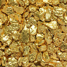 10 Pieces Alaska Natural Gold Nuggets / Flakes - FREE SHIPPING - (#10GTC0.5-1-1)