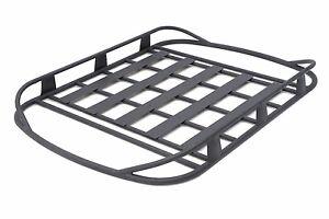 Smittybilt Aluminum Rugged Rack Cargo Basket 1987-2017 Jeep Wrangler YJ TJ LJ JK | eBay