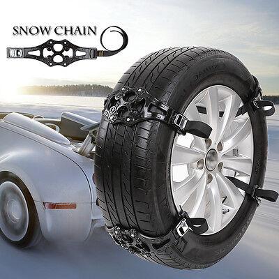 1PC Easy Install Simple Winter Truck Car Snow Chain Black Tire Anti-skid Belt