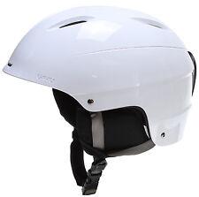 NEW Giro S5 Bevel White Mens Large 59-62.5 Ski Snowboard Helmet +HAT 2016 Ret$95