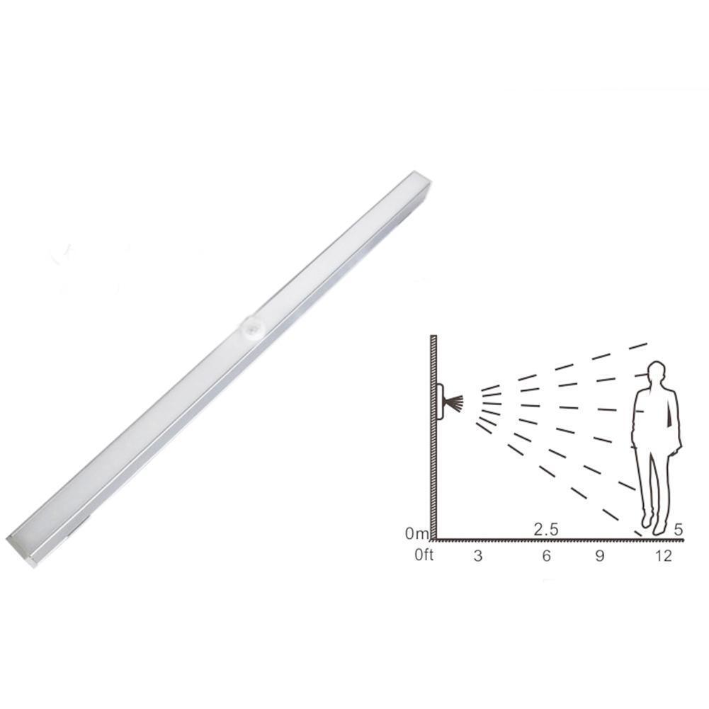 20-LED Wireless Motion Sensing Closet LED Tube Strip Under