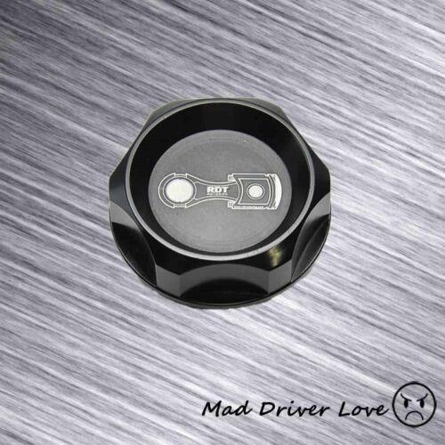 BLACK BILLET ALUMINUM ENGINE OIL CAP COVER FIT INTEGRA RSX NSX TSX TL RDX
