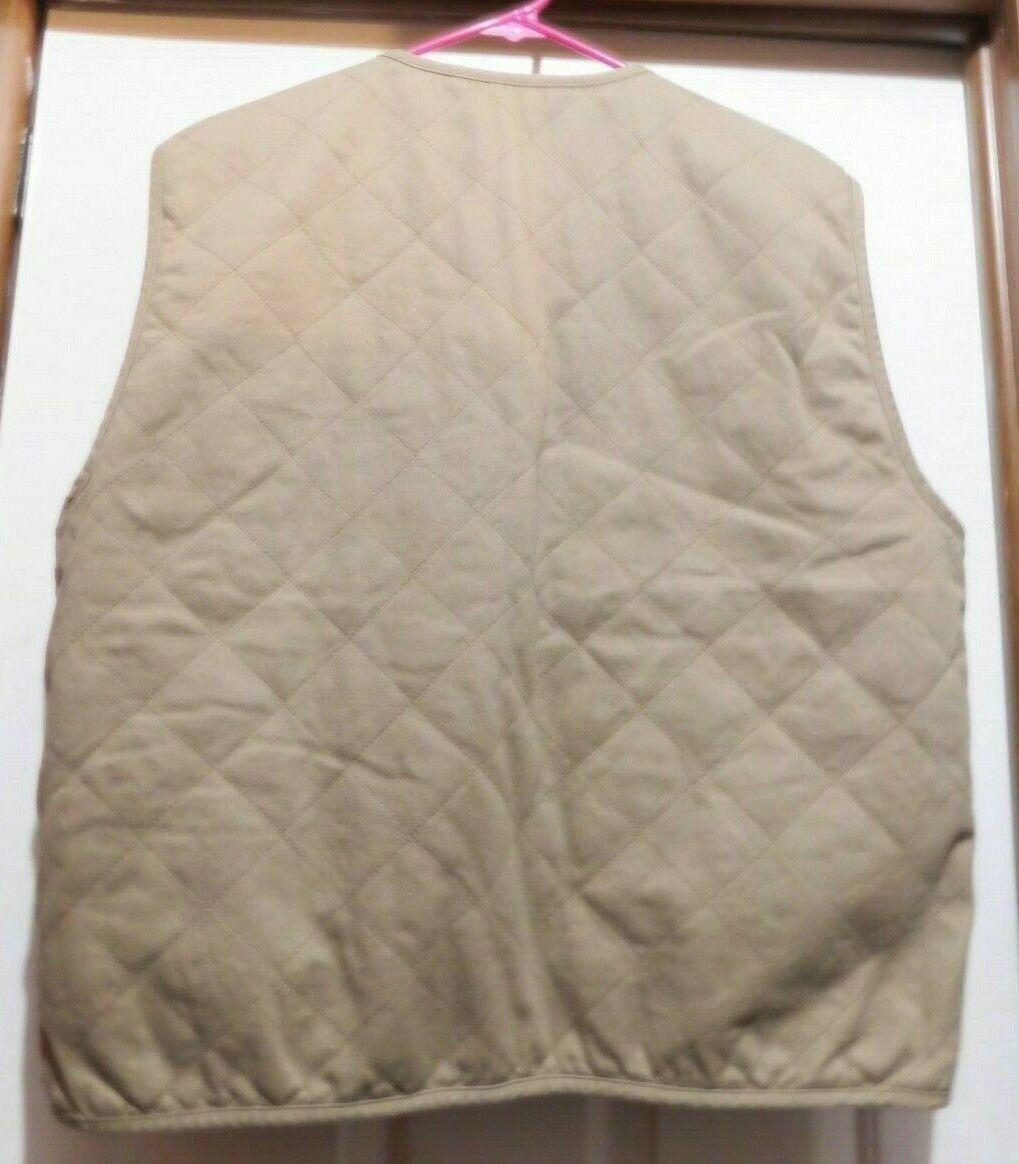 Tommy Hilfiger Men's size Large Reversible VEST K… - image 10