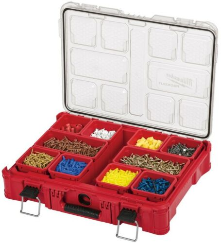 Milwaukee PACKOUT Small Parts Organizer 11-Compartment Modular Storage System