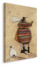 Sam Toft - Passionate dance- painting on canvas 30x40 cm