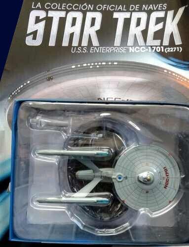 U.S.S. Enterprise NCC-1701 (2271) - STAR TREK Nº 2 la Nacion Argentina