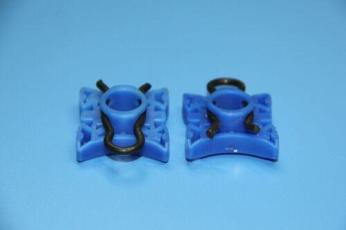 SAAB BLUE WINDOW REGULATOR SLIDER PIVOT RETAINER CLIPS PACK OF 2