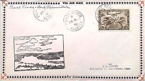 CANADA-1928-SC-C1-AIRMAIL-STAMP-ON-FIRST-FLIGHT-COVER-FFC-DATED-1930