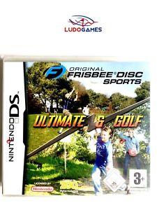 Originale-Frisbee-Disque-Sport-Ultimate-amp-Golf-Pal-Eur-Nintendo-DS-Neuf-Scelle