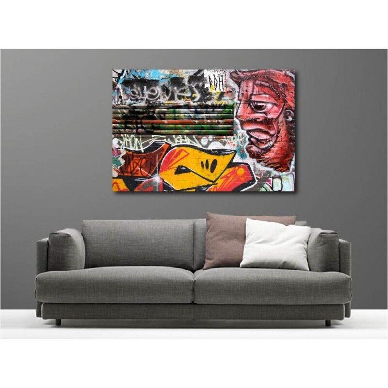 Wandbild Leinwand Deko Grafiti Tag 452859