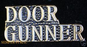 """/""""Door Gunner/"""" Hat Pin"""