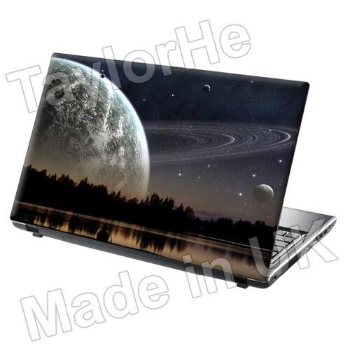 "TaylorHe 13/"" 14/"" Laptop Skin Adesivo Vinile Decalcomania Lonely Planet Earth UNIVERSO"
