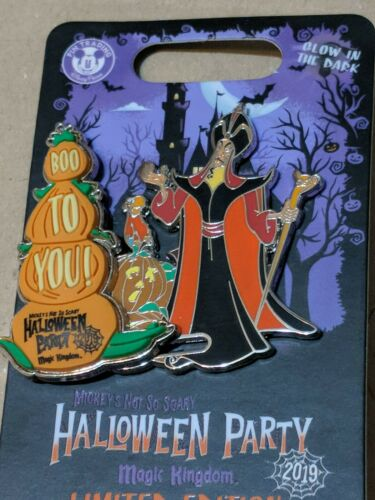 2019 MNSSHP Halloween Party Jafar Pin Limited Edition