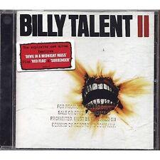 BILLY TALENT - II - CD PROMO 2006 USATO NEAR MINT CONDITION