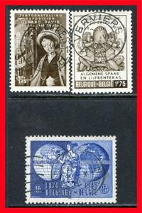 Belgium Postage Stamps Scott 399 401 Used B1080 Ebay