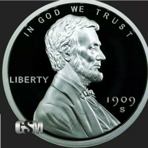 2 OZ 999 PURE SILVER LINCOLN CENT SILVER ROUND COIN CAPSULE BULLION PENNY