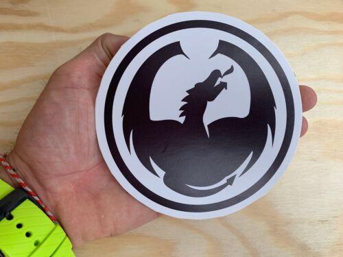 "Dragon Alliance Snowboard Sticker 4/"" Large Skateboard Surf Snow Decal Made"
