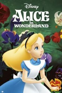 ALICE-IN-WONDERLAND-PORTRAIT-24x36-CLASSIC-DISNEY-MOVIE-POSTER-NEW-ROLLED