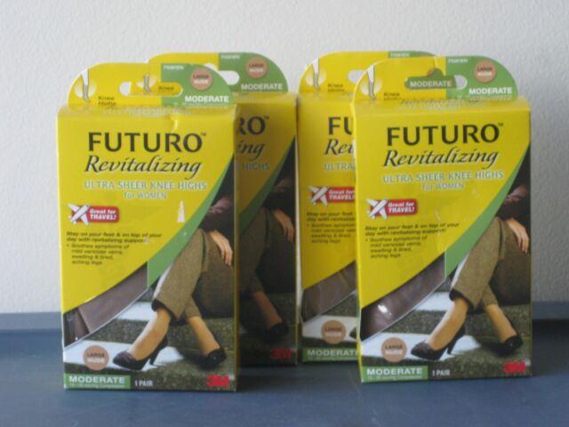 Futuro Revitalizing Ultra Sheer Knee Highs Nude 15-20 mm