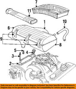 details about dodge chrysler oem 97 02 ram 3500 air cleaner intake box housing body 4897529aa  dodge engine diagram of intake #2