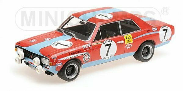 1 18 MINICHAMPS OPEL COMMODORE A Steinmetz 24 H Spa 1972 155 724607