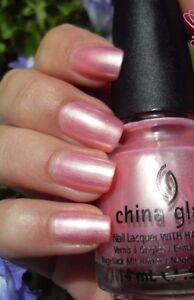 China Glaze EXCEPTIONALLY GIFTED Light Soft Pink Pearl Nail ...