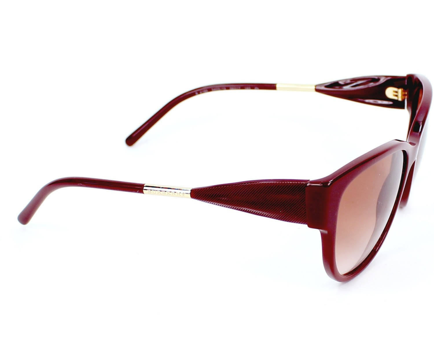 41bb4857d4af Burberry Women s Sunglasses B 4190 3403 13 Red Authentic B4190 56-17 ...