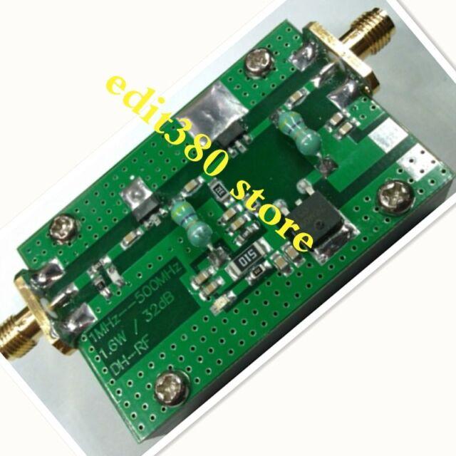 35dB 1MHz-700Mhz 433Mhz 3.2W VHF UHF HF FM RF Power Amplifier amp  Radio Ham